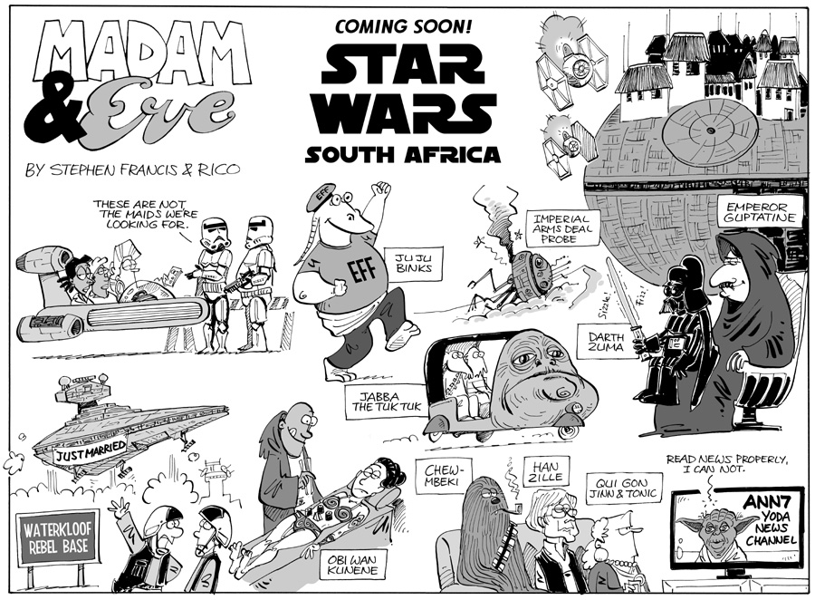 Madam & Eve Star Wars South Africa
