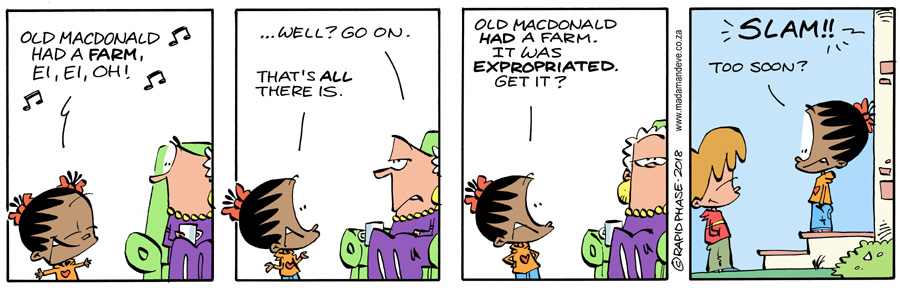 Madam and Eve comic #6645 of 6645 known